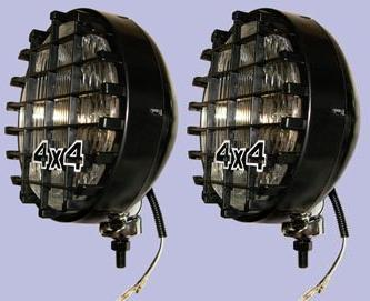 "8"" Spot Lights With Removable Grills - PAIR"