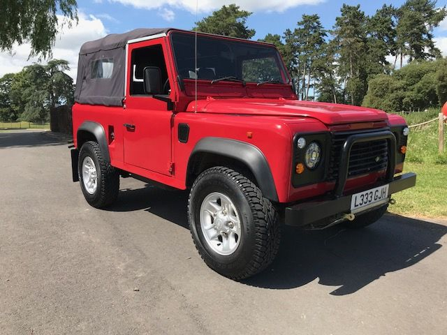 *** SOLD *** 1996 Defender 90 300 Tdi Soft top