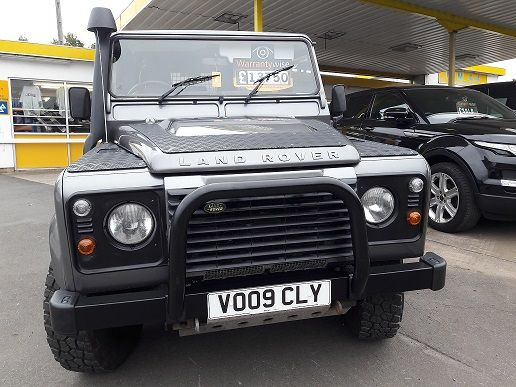 ***SOLD***Defender 110 2.4 County Utility Station Wagon 2009
