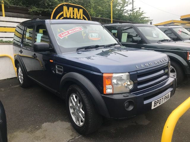 ***SOLD***Discovery 3 2.7 TDV6 XS Manual 7 Seater 2007***SOLD***