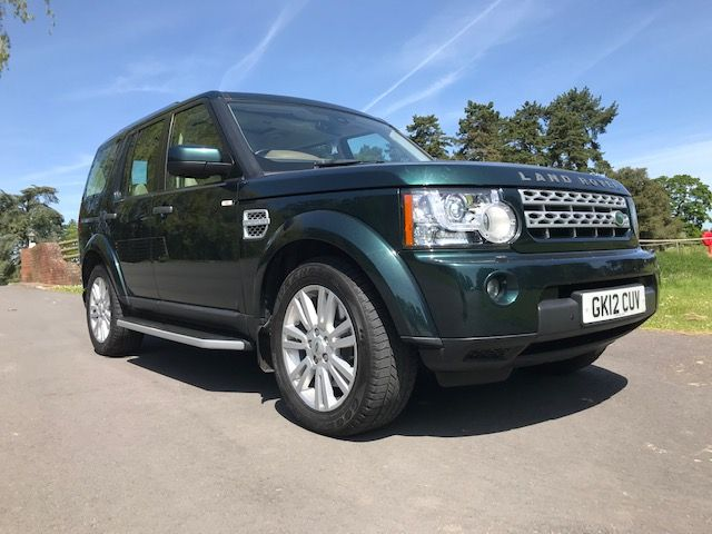 *** SOLD *** Discovery 4 SDV6 3.0 HSE Auto 7 Seater 2012