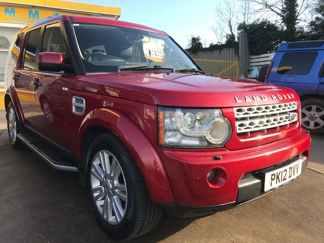 *** SOLD *** Discovery 4 SDV6 3.0 XS Auto 2012