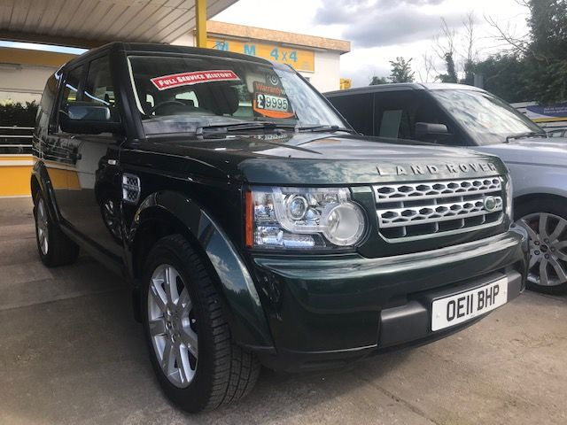 ***SOLD***DISCOVERY 4 SDV6 GS AUTO 2011***SOLD***