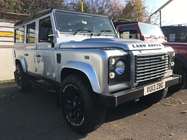 ***SOLD***Land Rover 110 2.2 County TD 7 Seater 2013