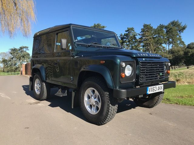 ***SOLD***Land Rover 90 County 2.2 TDCi 2013