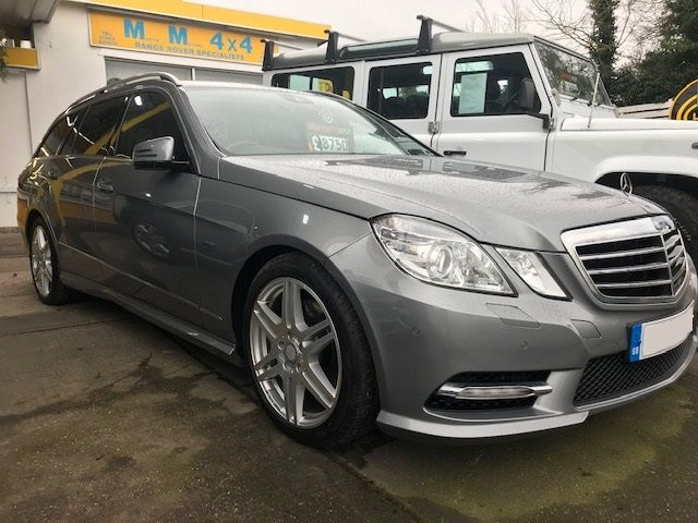 *** SOLD *** Mercedes E350 Sport Estate ED125 CDi Auto 2011
