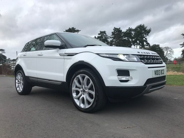 *** SOLD *** Range Rover Evoque Pure SD4 2013