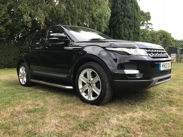 ***SOLD***Range Rover Evoque SD4 Automatic 2013