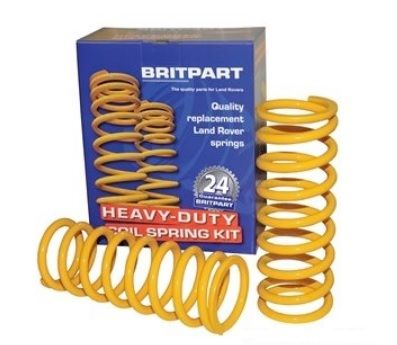 2 inch Lift Heavy Duty Coil Springs - REAR PER PAIR