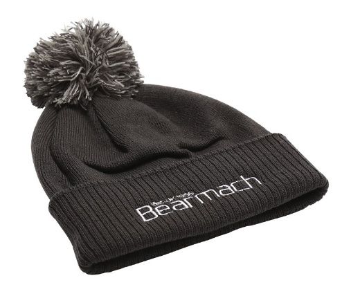 Bearmach Graphite Grey Bobble Hat
