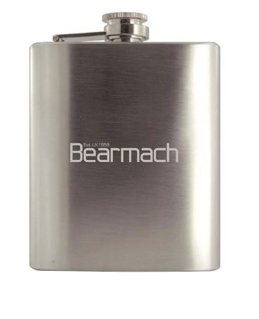 Bearmach Stainless Steel Hip Flask