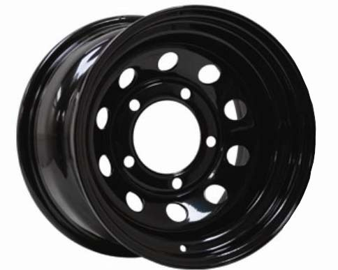 Black Modular Wheel - 16in x 8in - EACH