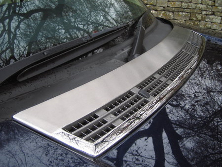 Bonnet Vent Cover - Brushed Stainless - Range Rover L322