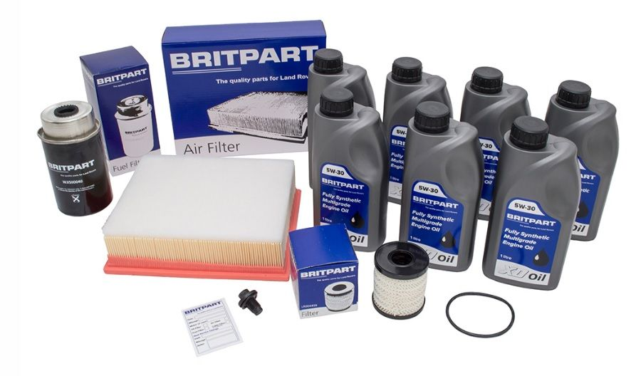 Britpart Service Kit with Oil - DA6041COM