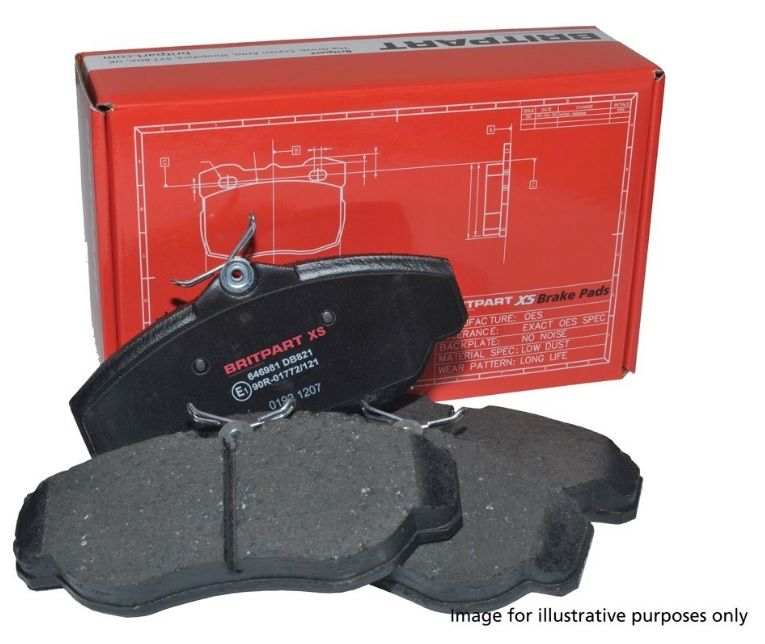 Britpart XS Rear Brake Pads - LR134696G