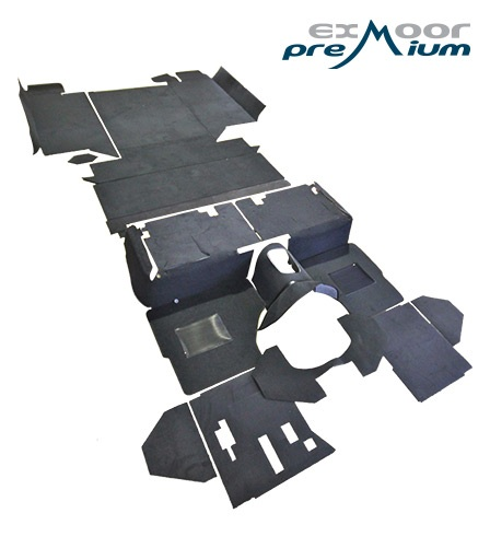 Defender 110 Premium Carpet 2nd Row and Rear Body (square) - EXT021-22