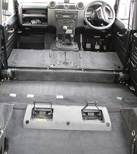 Defender 110 Puma S/W Full Premium Carpet Set (cut away arches) 7 Seat - EXT021-10