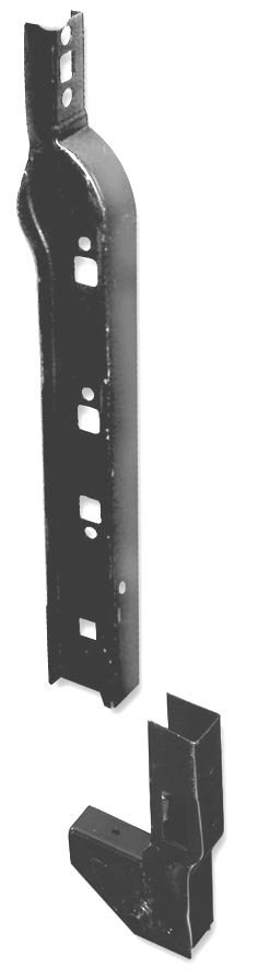 Defender 90/110 Door Pillar Set - NEARSIDE