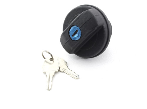 Defender Late style Locking Fuel Cap & Keys - WLD500200/LR032977/LR075664
