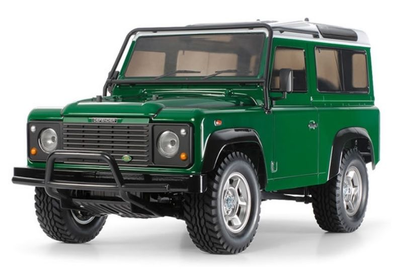 Defender Remote Control Car Model & Control System