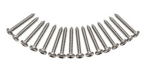 Defender - Stainless Steel Light Screw Kit - DA1137