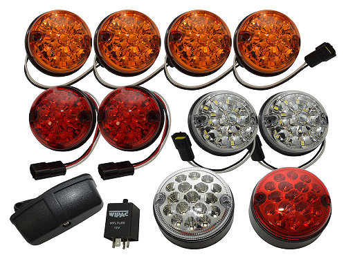Deluxe LED Coloured lens Light Kit - DA1292