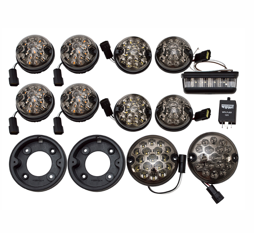 Deluxe LED Smoked Light Kit
