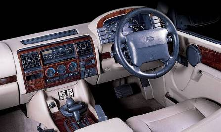 Discovery 1994-98 Manual - 16 Piece Wood Effect Dash Kit