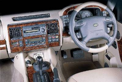 Discovery 2 Td5 Manual 16 Piece Wood Effect Dash Kit
