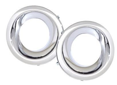 Discovery 4 - Fog Lamp Surrounds - Plastic - Chrome Finish - DA5664