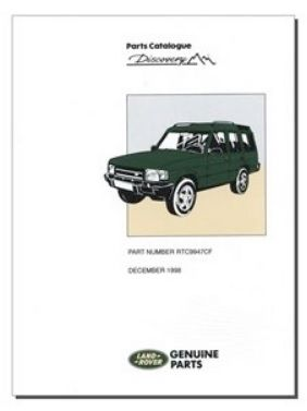 Discovery Parts Catalogue - 1989 to 1998