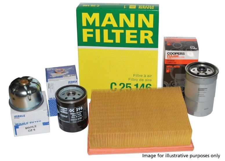 Diesel Engine Filter Service Kit for Land Rover Discovery Sport 2.2 OEM