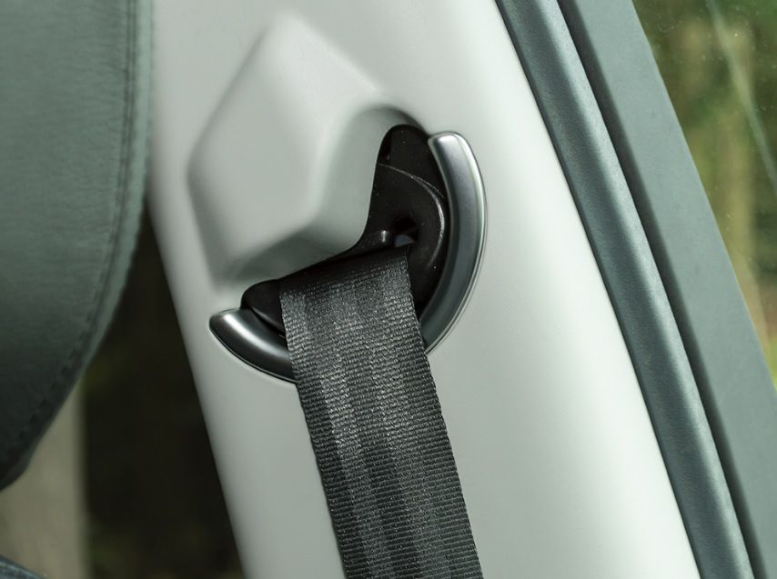 Discovery Sport - front seatbelt cover trim