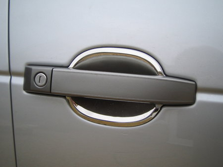 Door Handle Scuff Plates - Polished Stainless - Range Rover L322