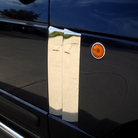 Double Fin Side Vents - Full Chrome - Range Rover L322