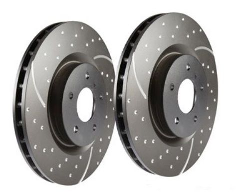 EBC Performance Vented Brake Discs - Front PAIR