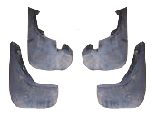 Freelander Mud Flap Kit - 2001 Onwards - PAIR - FRONT