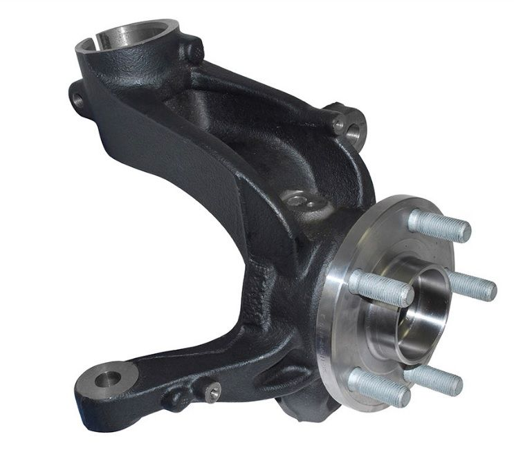 Front Hub, Bearing & Upright Assembly - Right Hand Side