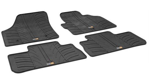 Front & Rear Black Rubber Mat Set RHD - VPLFS0233