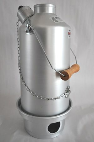 Ghillie Kettle - The Adventurer (Aluminium)