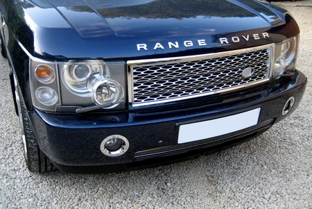 Grille Kit - CHROME & SILVER (Square Type) - Range Rover L322
