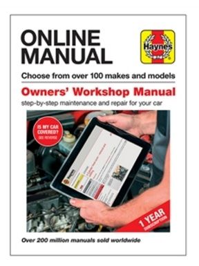 Haynes Online Manual - DA4694