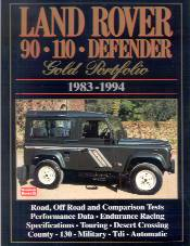 Land Rover 90 - 110 Defender Gold Portfolio - 1983 / 1994