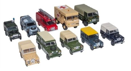 Land Rover Military Model Set