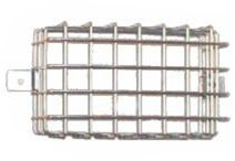 Land Rover Series 3 Single Wire Mesh Rear Lamp Guard - galvanised