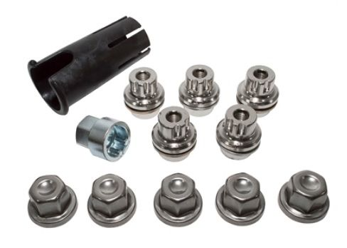 Locking Wheel Nut Kit - Discovery 2