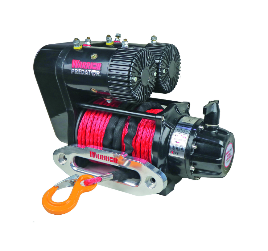 Predator 10000 Dual Performance Winch - Synthetic