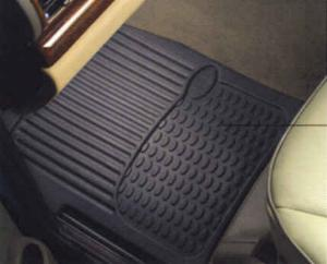 Range Rover Classic Genuine Land Rover Rubber Mat Set [Front and Rear]