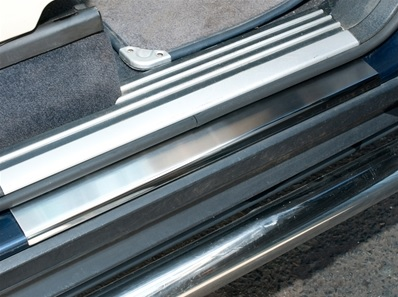 Range Rover L322 - Lower Sill Step Covers (pair, front & rear) - DA1073