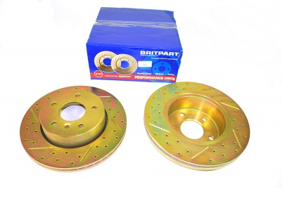 Range Rover P38 - Performance Brake Discs